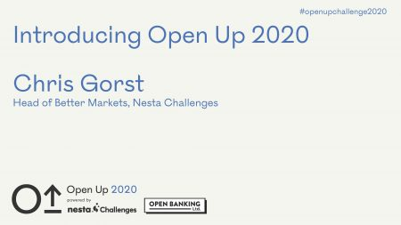 Open Up 2020 Launch Presentation