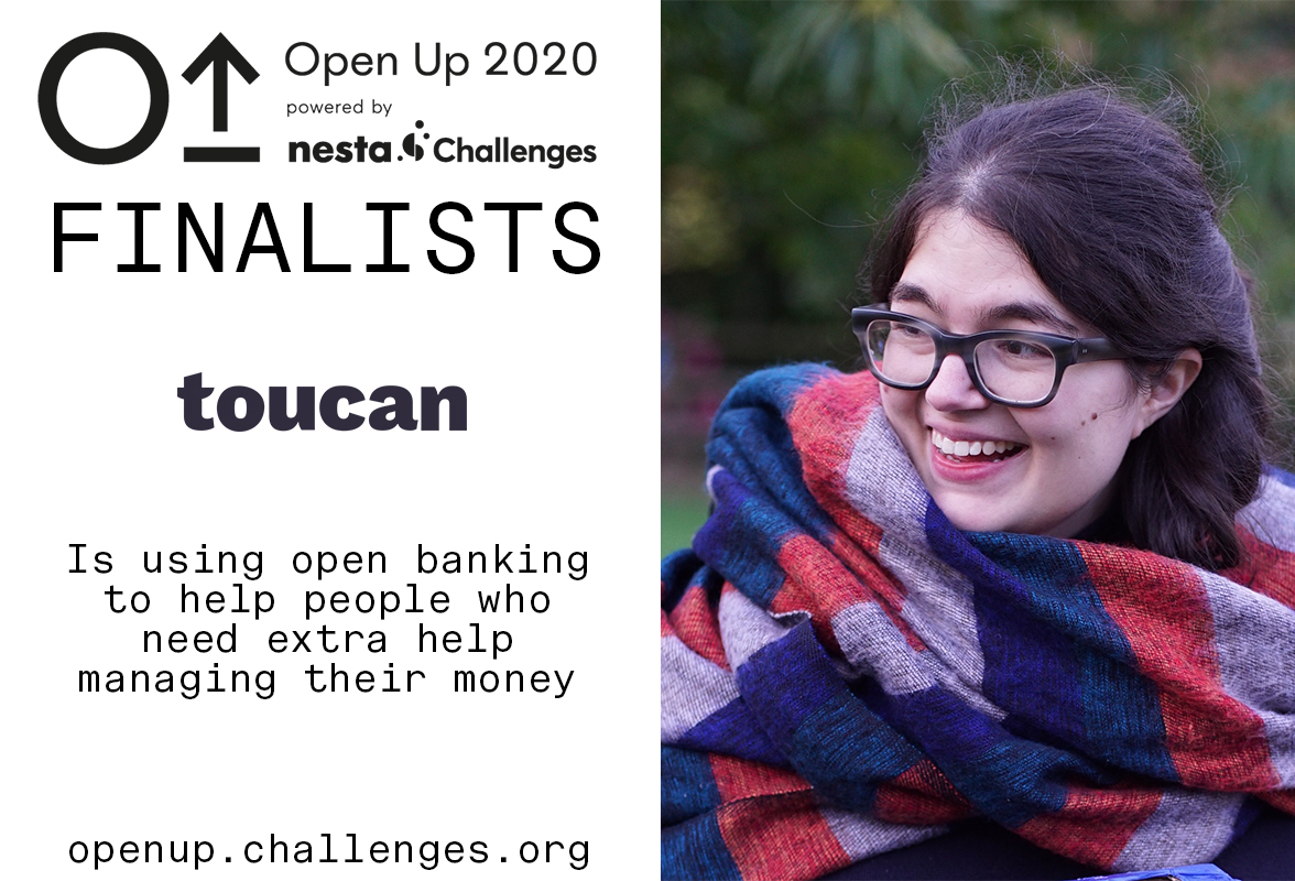 Toucan helps people who need extra help managing their money because of impairments like dementia or mental illness.